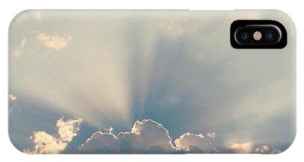 Bright iPhone Case - Sky by Raimond Klavins