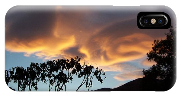 Sky Swirls IPhone Case