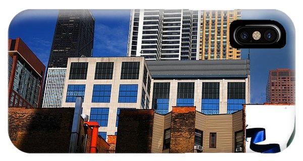 Skyline Building Blocks IPhone Case