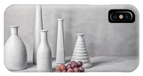 Grape iPhone X Case - Skyline by Christophe Verot
