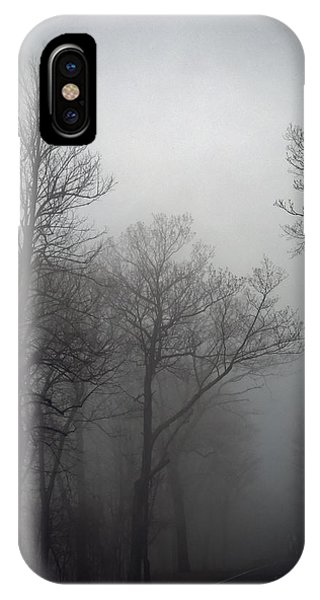 Skyline Drive In Fog IPhone Case
