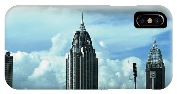 Skyline Over  Mobile IPhone Case