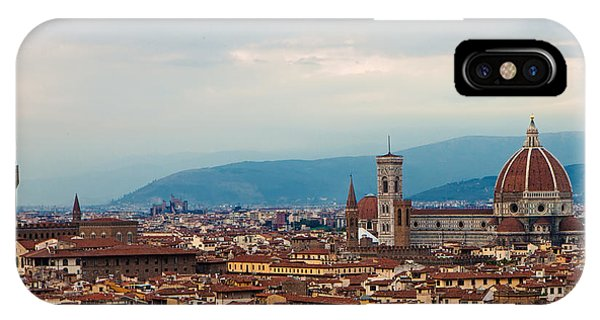 Skyline View Of Florence Italy IPhone Case