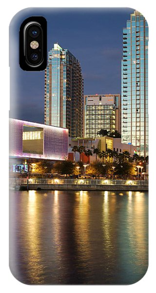 Skypoint Reflection At Dusk IPhone Case