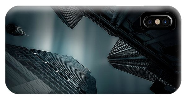 Skyscraper iPhone Case - Skyscraper In Sydney by Weihong  Liu