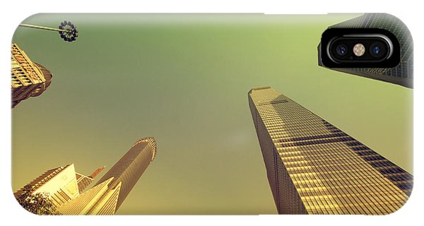 IPhone Case featuring the photograph Skyscraper by Yew Kwang