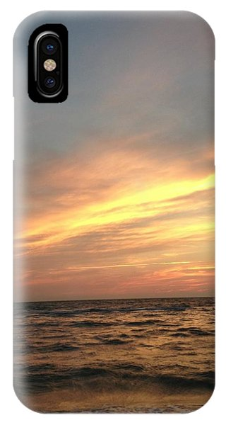 Slanted Setting IPhone Case