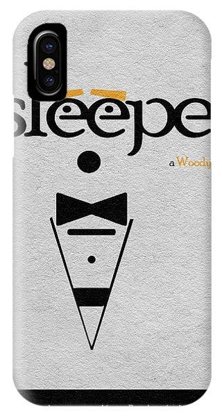 Sleeper iPhone Case - Sleeper by Inspirowl Design