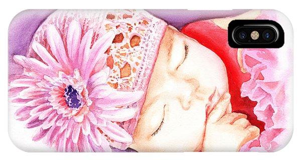 Sleeping Baby IPhone Case