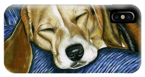 Sleeping Beagle IPhone Case