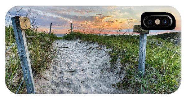 Sleeping Bear National Lakeshore Sunset IPhone Case