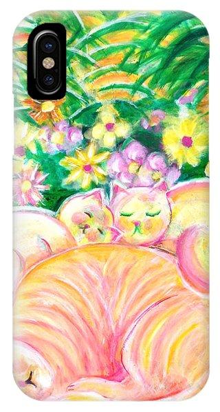 Sleeping Cats IPhone Case