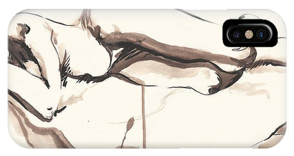 Sleeping Nude IPhone Case