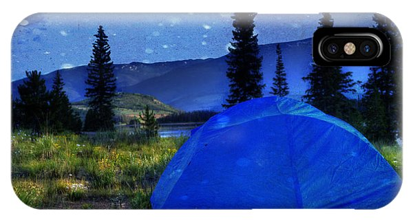 Sleeping Under The Stars IPhone Case