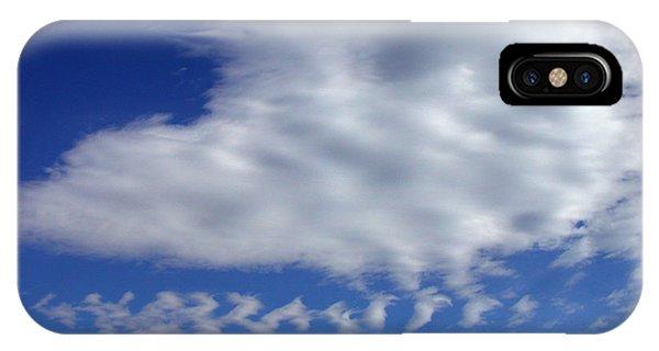 Sleepy Clouds IPhone Case