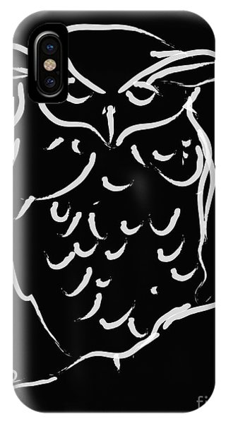 Sleepy Owl IPhone Case