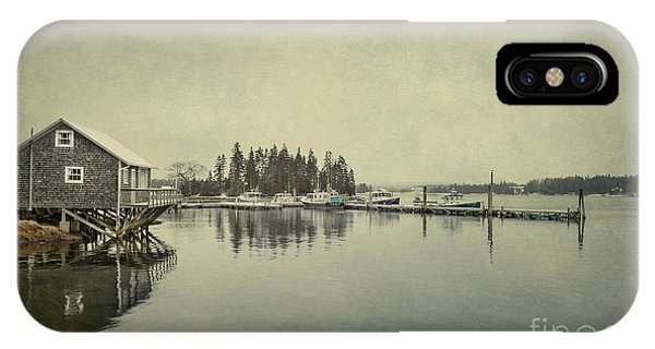 Scenic New England iPhone Case - Sleepy Shores by Evelina Kremsdorf
