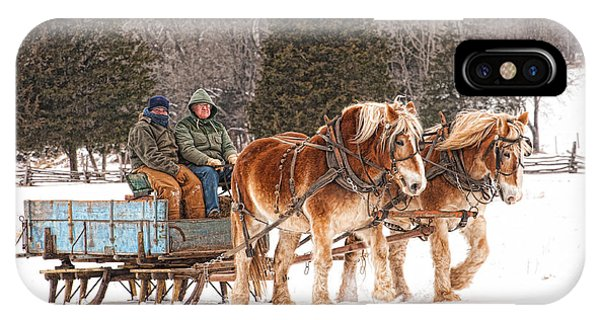 Sleigh Ride IPhone Case