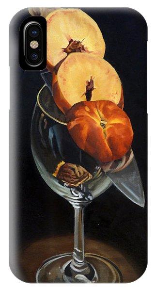 iPhone Case - Sliced Peach by Rick Liebenow