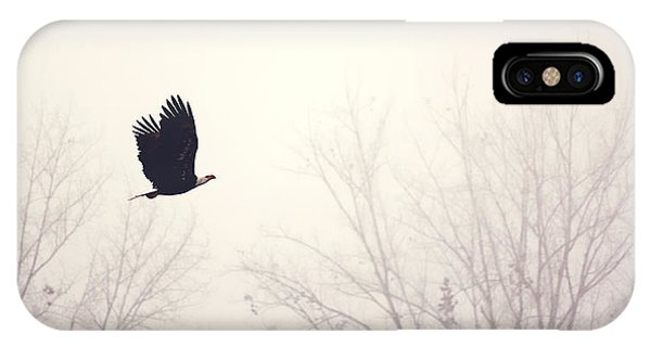 Slicing Through The Fog IPhone Case