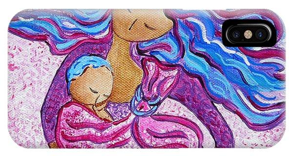 Sling Dance Motherhood Babywearing Dance Artwork IPhone Case