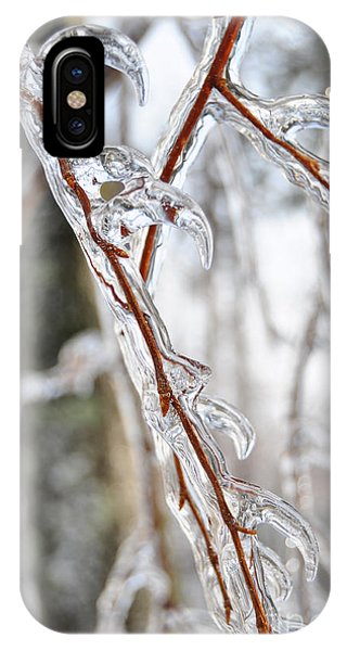 Sloping Icicles IPhone Case