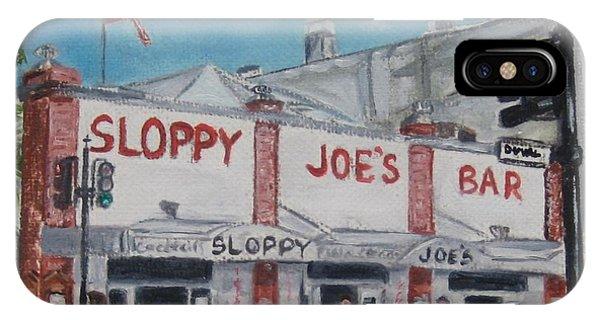 Sloppy Joe's IPhone Case