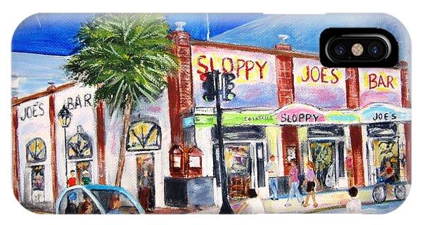 Sloppy's Nightlife IPhone Case