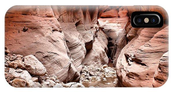 Slot Canyon Hike IPhone Case