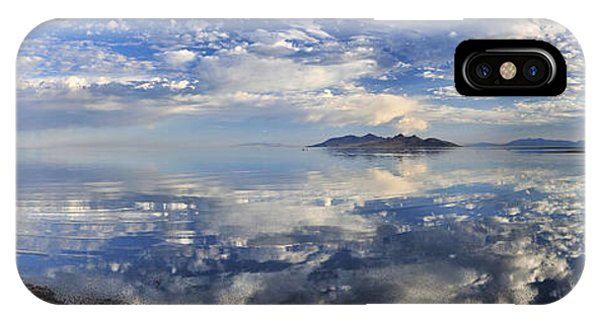 Slow Ripples Over The Shallow Waters Of The Great Salt Lake IPhone Case