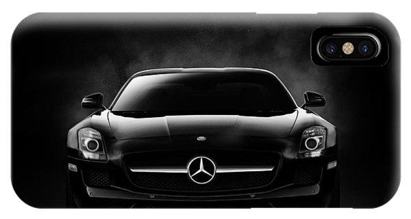 Automotive iPhone Case - Sls Black by Douglas Pittman