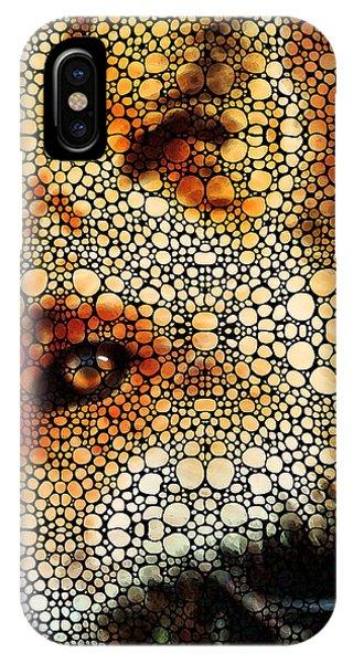 Sly Fox - Mosaic Art By Sharon Cummings IPhone Case