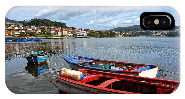 Small Boats In Galicia IPhone Case