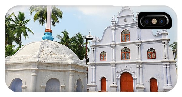Roxbury iPhone Case - Small Church, Kochi (cochin by Steve Roxbury
