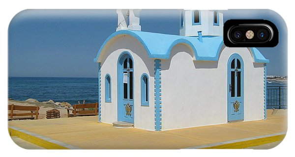 Small Crete Church IPhone Case