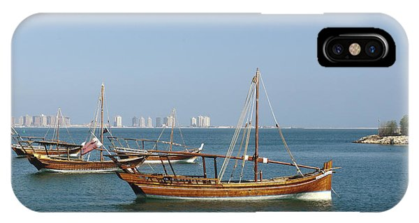 Small Dhows And Pearl Development IPhone Case