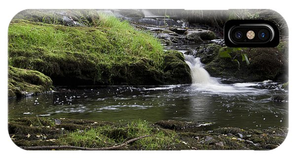 Small Falls On West Beaver Creek IPhone Case