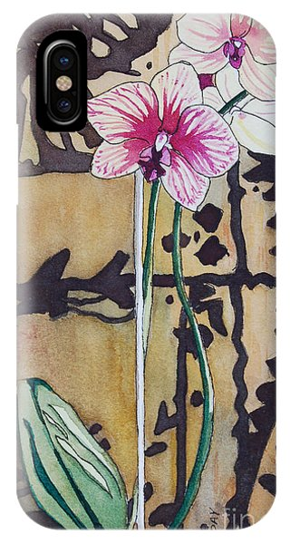 Small Orchids IPhone Case