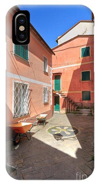 small square in Camogli IPhone Case