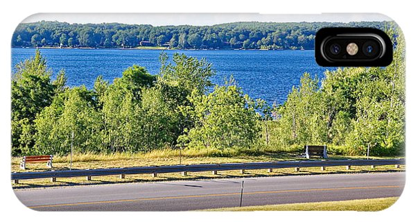Small Town Georgian Bay Waterfront Views IPhone Case