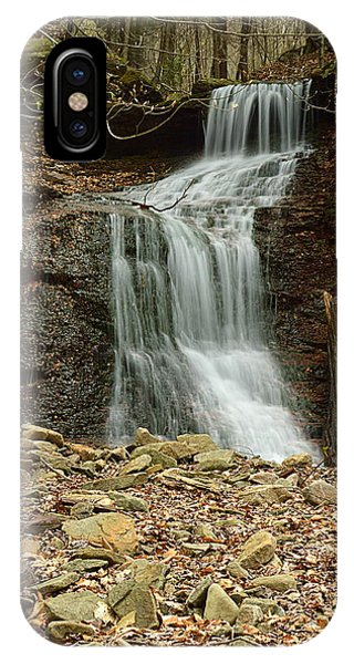 Small Tributary Falls To Heberly Run #1 IPhone Case
