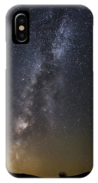 Small Under The Night Sky IPhone Case