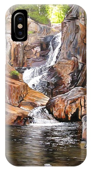Smalls Falls Maine IPhone Case