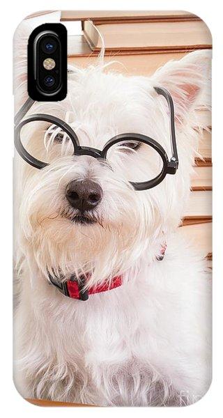 Fielding iPhone Case - Smart Doggie by Edward Fielding