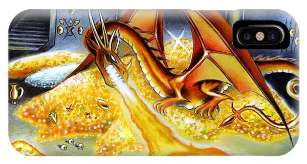 Smaug The Magnificent IPhone Case