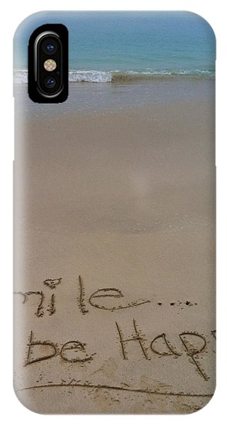 Smile Be Happy IPhone Case