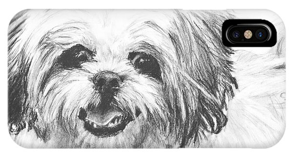 Smiling Shih Tzu IPhone Case