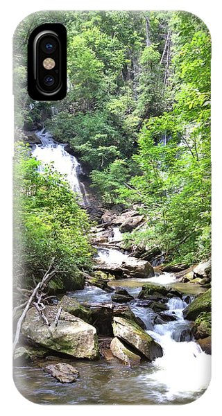 Smith Creek Downstream Of Anna Ruby Falls - 3 IPhone Case