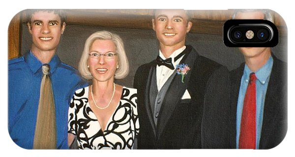 Smith Family Portrait IPhone Case