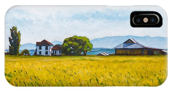 Whidbey iPhone Case - Smith Farm by Stacey Neumiller